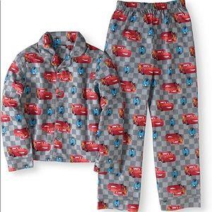 Cars Boys Two Piece Pajama Set